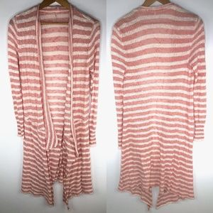 Free People Forget Me Not Striped Sweater XS